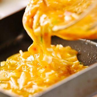煎蛋卷(芥末磨碎)