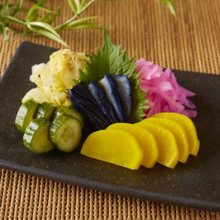 什锦酱菜5个品种
