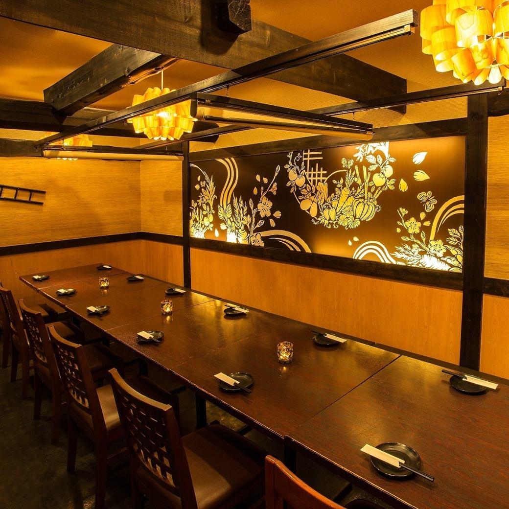 【完全包房】千叶站步行3分钟★时尚的私人房间×日式餐厅♪受欢迎的日本女性空间!