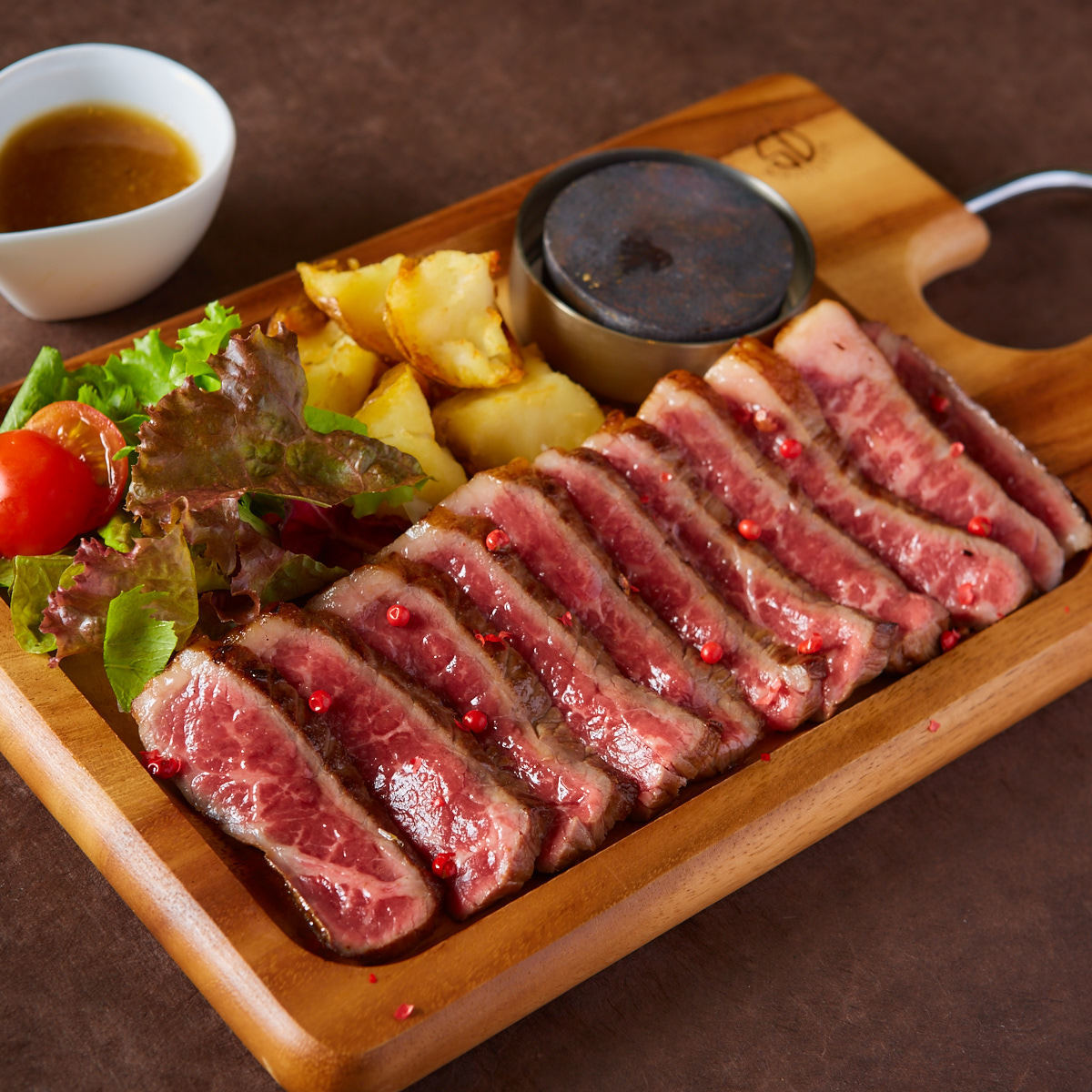 숙성 고기 스테이크