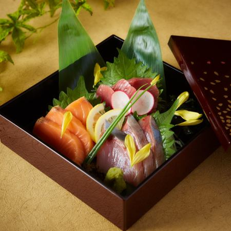 Assorted sashimi 3 types 3