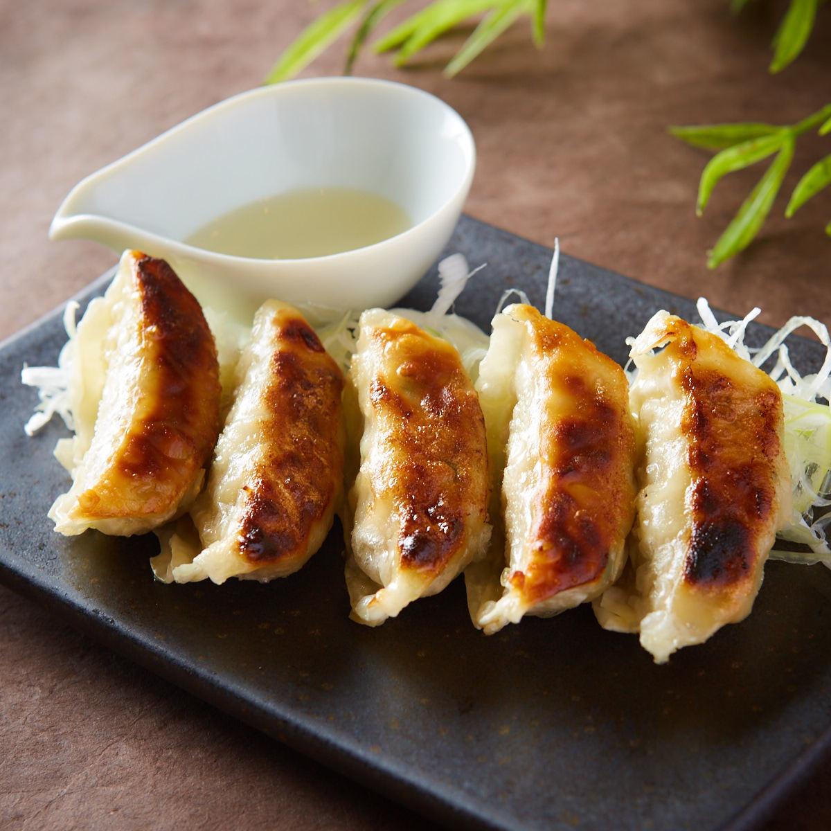 구운 만두