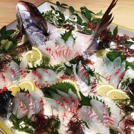 タイの生き造り【特別料理】