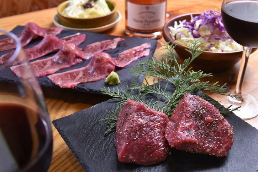 上質なワインと上質なお肉をご堪能ください♪