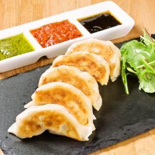 三种酱肉饺子(5个硬币)