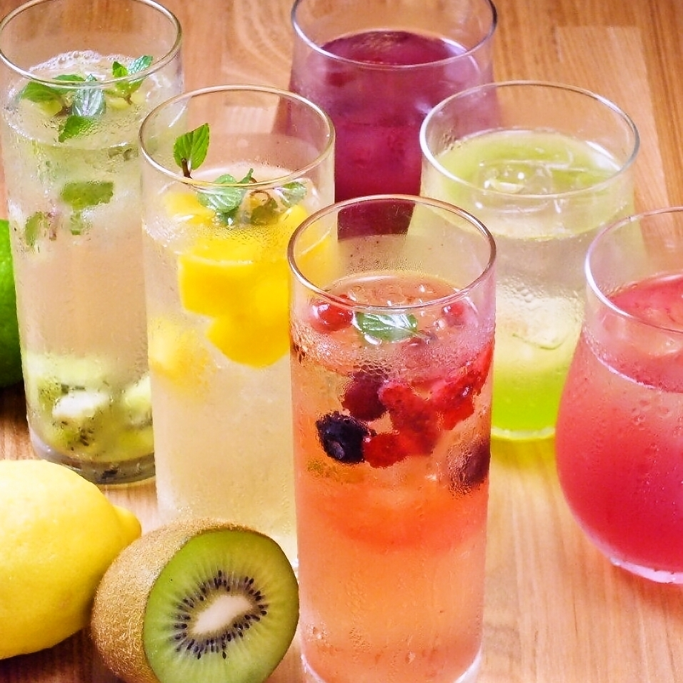 I will produce a drinking party gorgeously with cocktails and sangria ♪