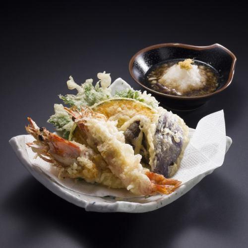 車海老天ぷら定食