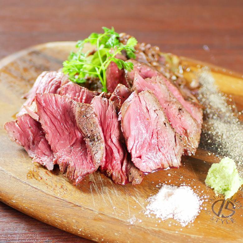 牛ハラミのグリルステーキ(200g)
