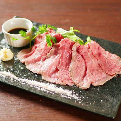 絶品!神戸牛の贅沢ローストビーフ