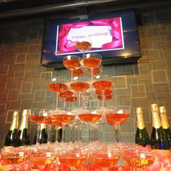 ☆ 【1st wedding ceremony plan】 All-you-can-drink & karaoke 2 hours charter 3500 yen