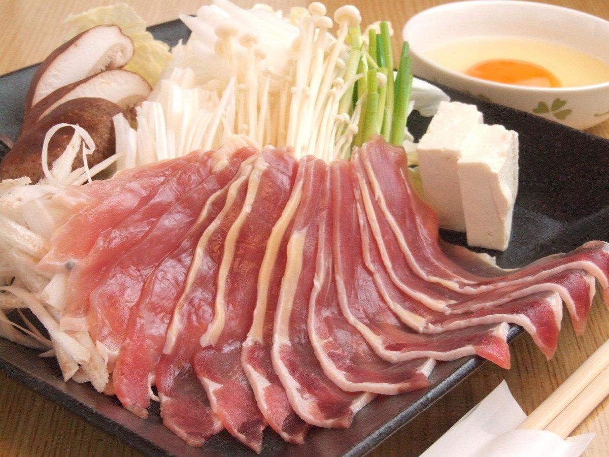 雉鍋(きじなべ)