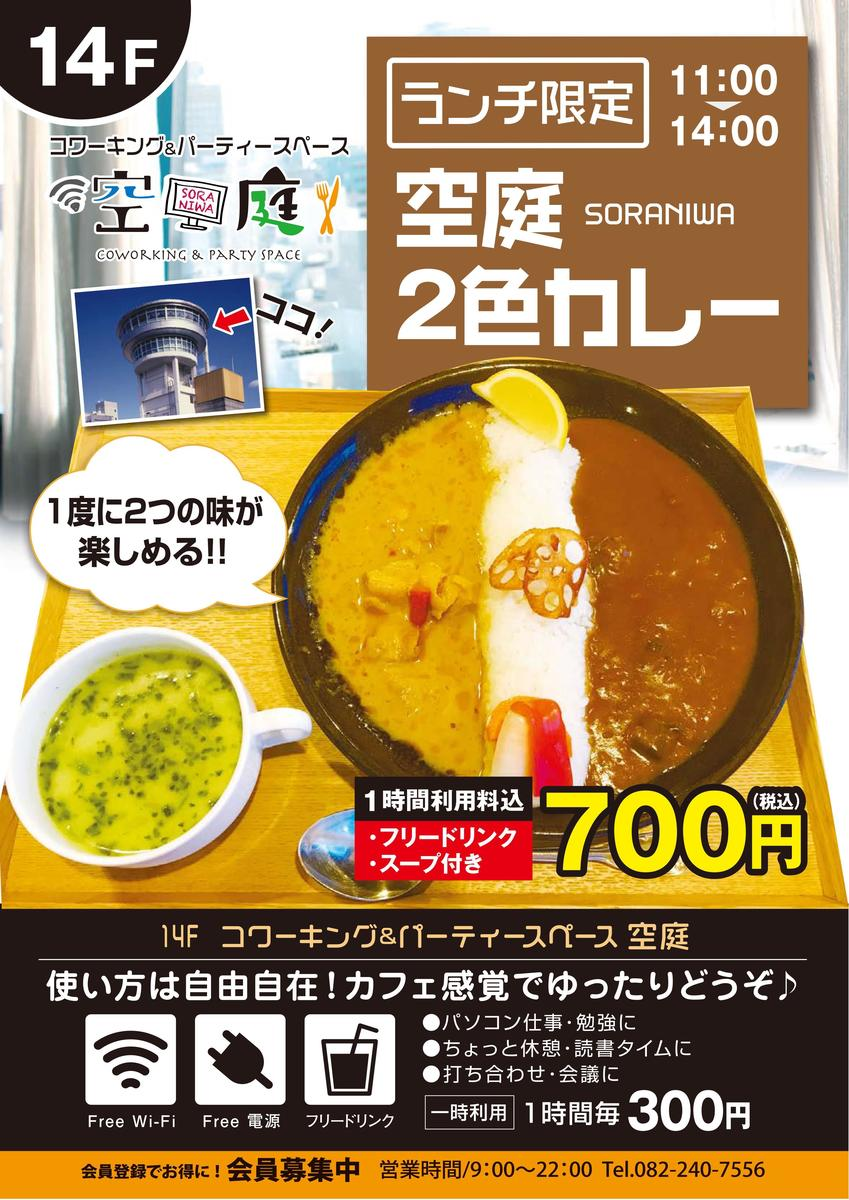 Lunch limited 2 color curry