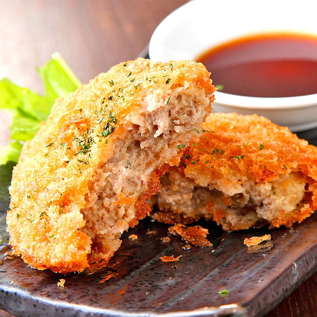 Matsusaka猪的辣椒炸肉排