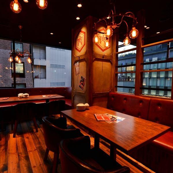 可以俯瞰名古屋市的座位也可供使用!最多可容納10人使用可以欣賞夜景的小座椅。