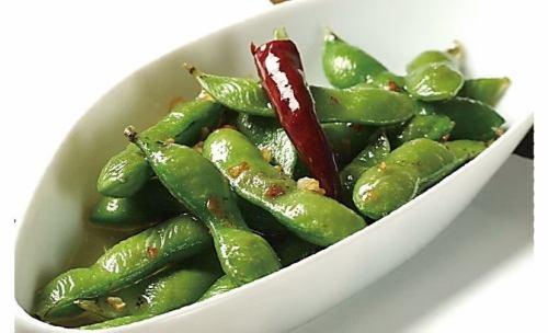 黒枝豆のペペロンチーノ