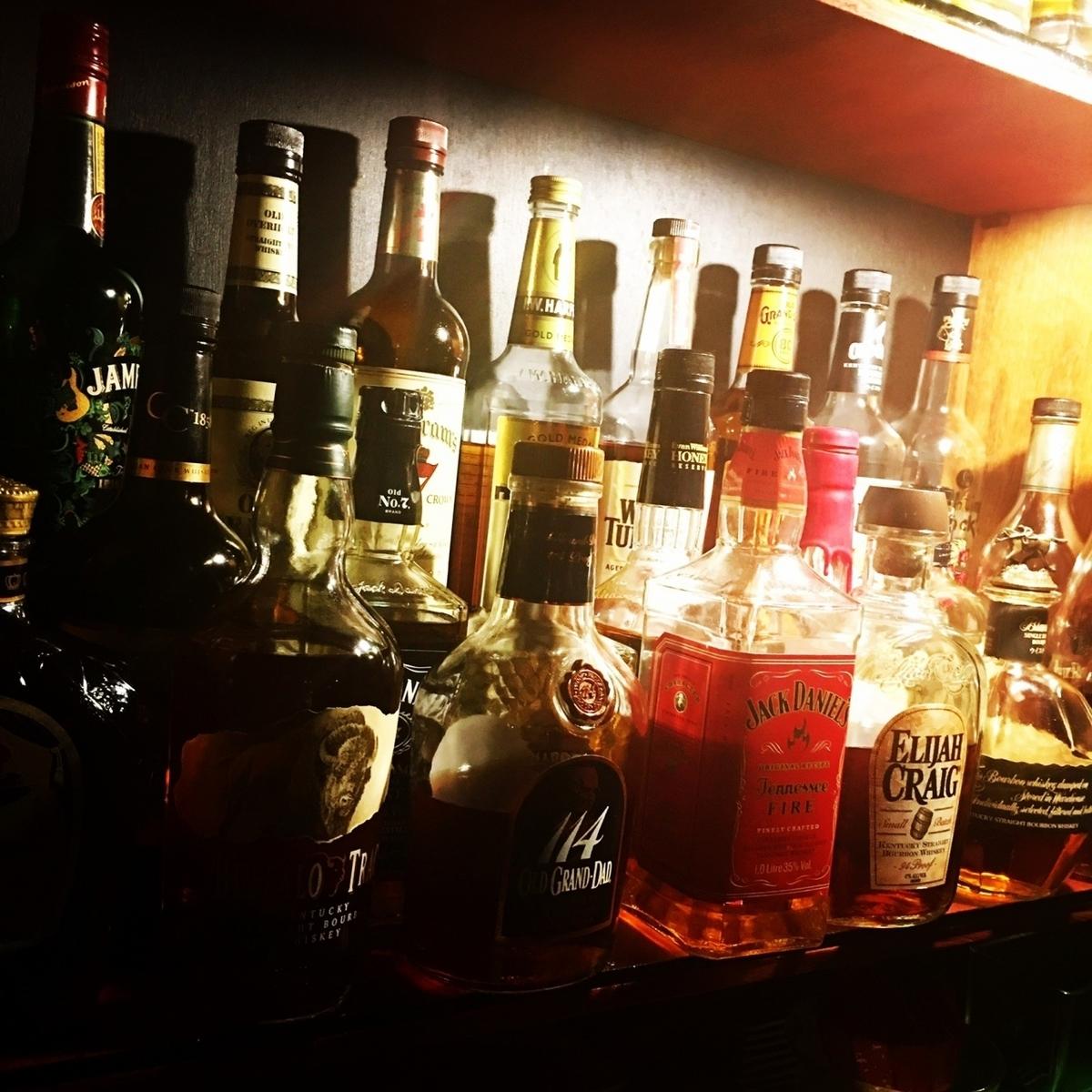 バーボンウイスキー