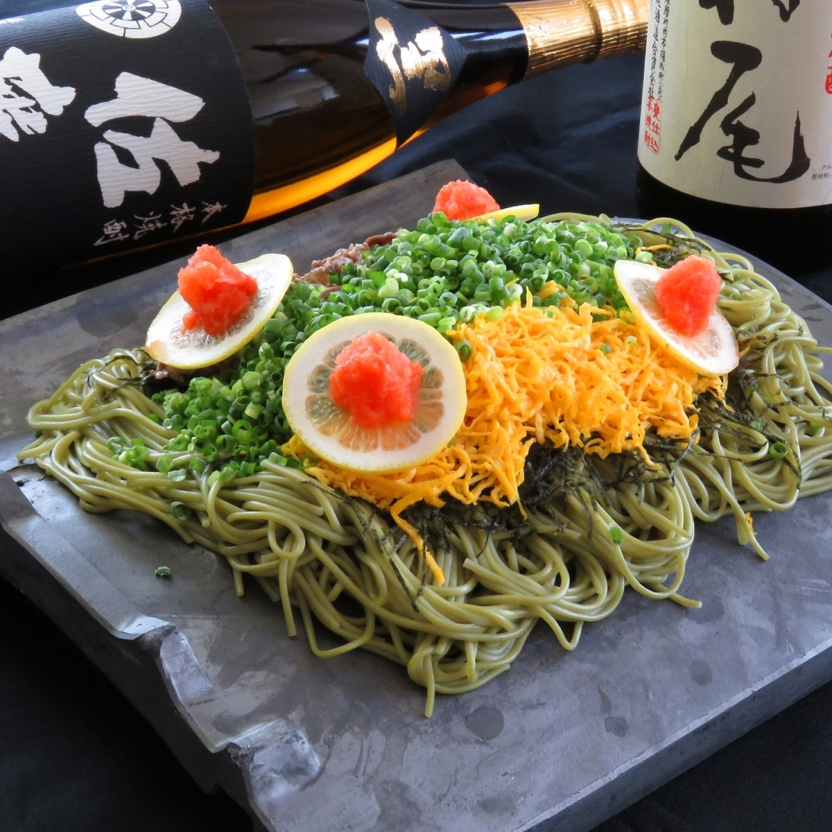 It is unusual in Kagoshima! Tile Soba