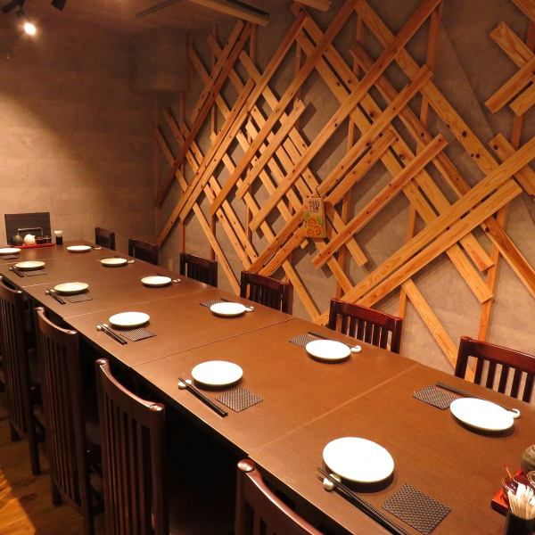 There is a private room with a maximum capacity of 12 people ♪ How about a relaxing banquet with a calm atmosphere?