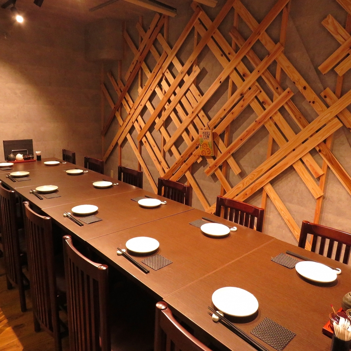 It is a private room in a calm and adult space ♪ Also at company banquets ◎