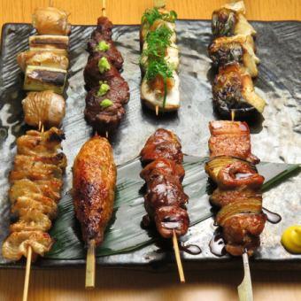 串焼き8本盛り