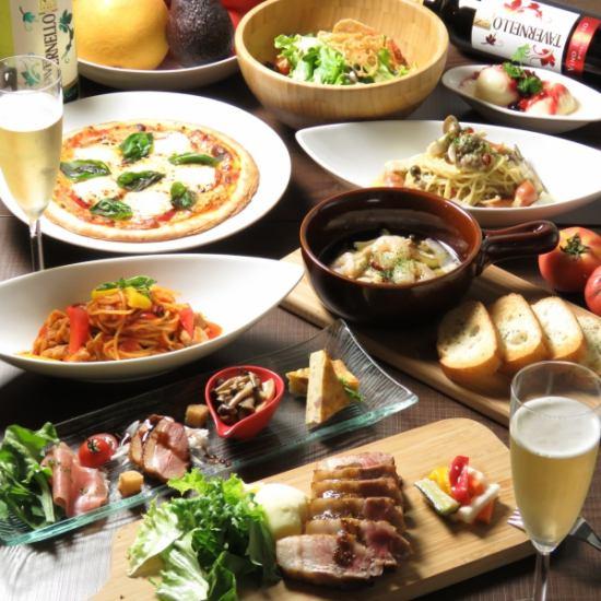 デートに食べ放題!!美味しくておしゃれなディナーに大満足!