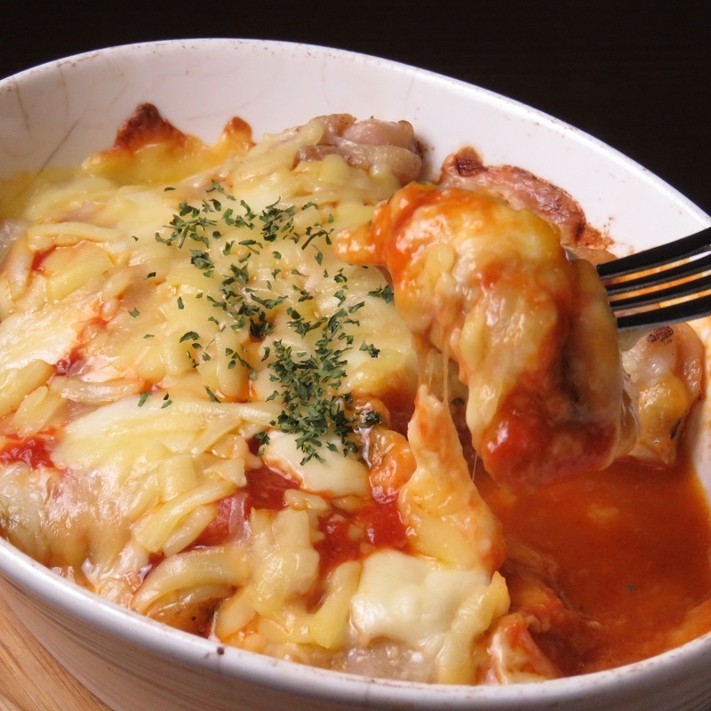 ☆人気NO3☆  若鶏のたっぷりチーズのオーブン焼き