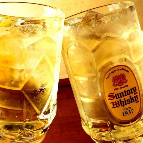大量居酒屋飲料♪全部在一杯250日元〜(不含稅)