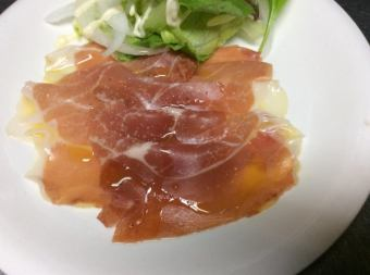 Spanish-made ham slice (Hamon Serrano)