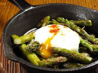 綠蘆筍anch魚炒香