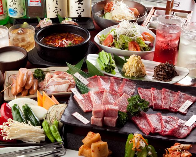 [With 2H all-you-can-drink] Ohana Course 10 items 5500 yen