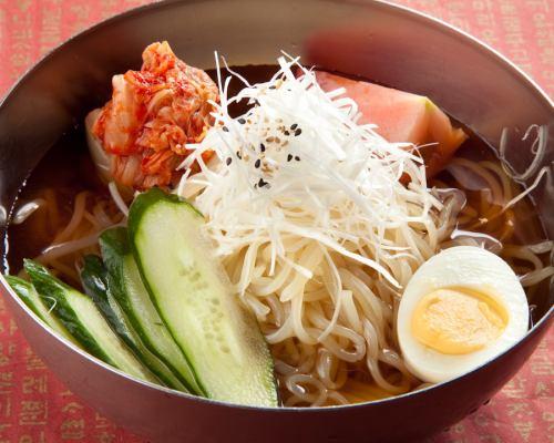 Recommended Seijo Yakiniku Ohana << Morioka Cold Noodle >>