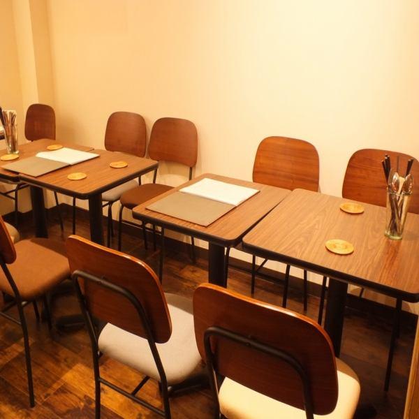 <常に換気してます>各種宴会にもおすすめ★最大16名迄座れるテーブル席!貸切時は最大30名様迄OK