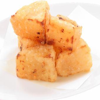 Deep-fried radish