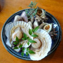 名物貝の焼き物セット(2名様用)4,120円(税込)