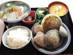 焼き物御膳 冬季小鍋付き/夏季豚シャブサラダ付