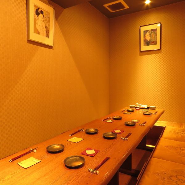 A digging tatami room which can be up to 10 people in the back of the first floor is possible.Recommended for small banquets.