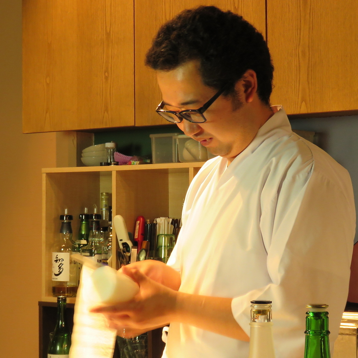 日本料理擁有板長
