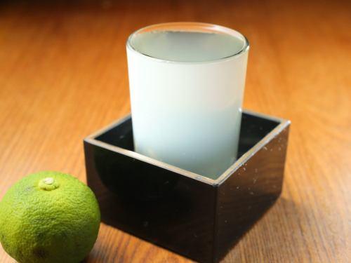日本酒各種~寒い冬は熱燗で!