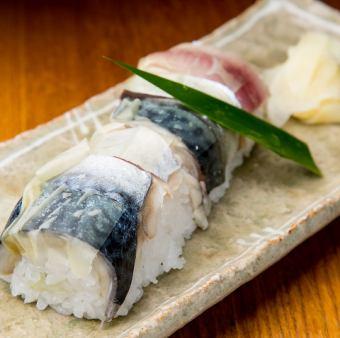 .鯖の押し寿司