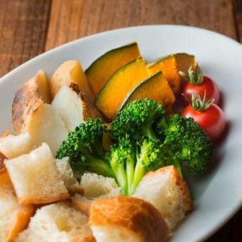 奶酪火鍋蔬菜集