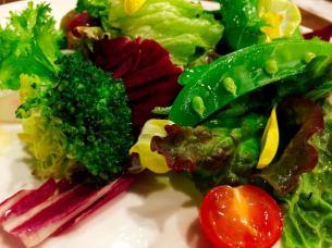 Machida vegetable coloring green salad