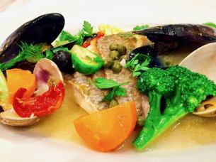 Fresh fish Aquapazza