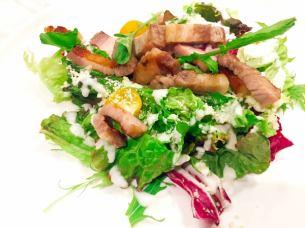 TOKYO X Homemade bacon Caesar salad