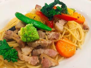 Machida Coloring vegetables and TOKYO X's Peperoncino