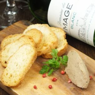 Chicken white liver pate