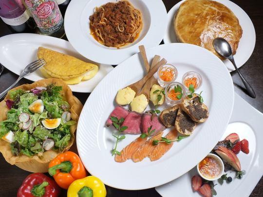 Serena course (9 dishes) 5000 yen
