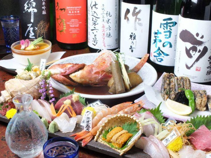 您可以享用各種創意和多樣化的美食,包括新鮮的海鮮菜餚。