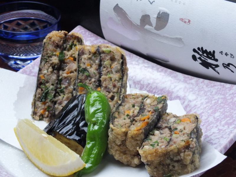 Deep-fried sardine