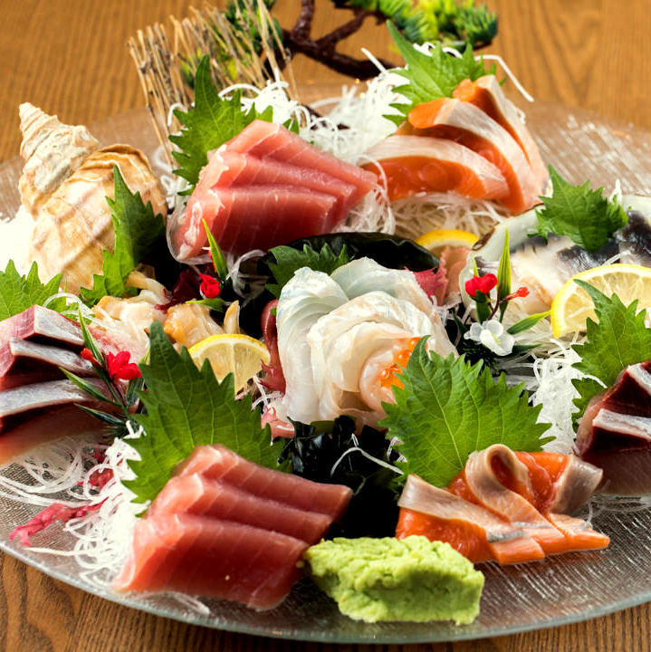 """Delicious sushi"" chef Chef Luxury of whole body"