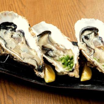 「生牡蠣 or 焼きガキ」 1個